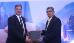 Mr Dalip Sharma- MD, Delta India with Sanjay Achawal- Executvie Director at the MOU signing for Delta products Marketing in India-1