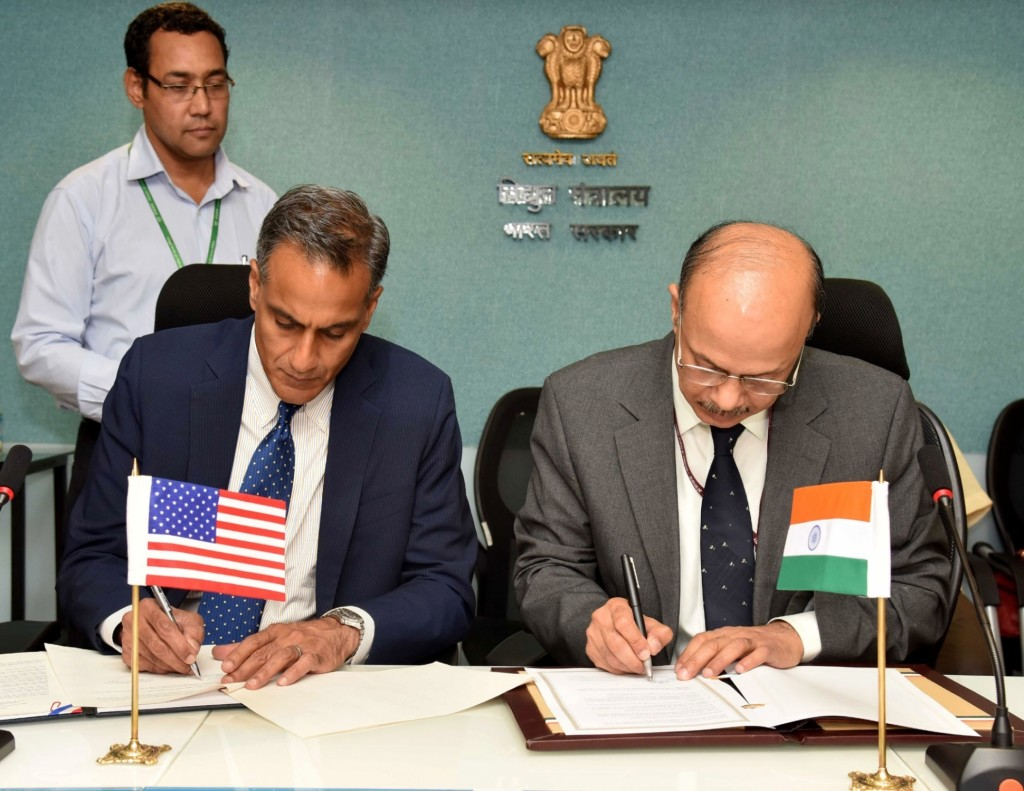 Clean Energy Memorandum signed between India & America