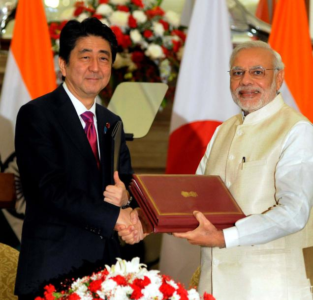 MOU between India & Japan for promoting sustainable development