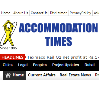 Subscribe Accommodation Times for Latest Real Estate news