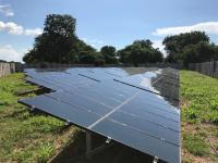 meeco installed biggest solar energy plant in Zimbabwe