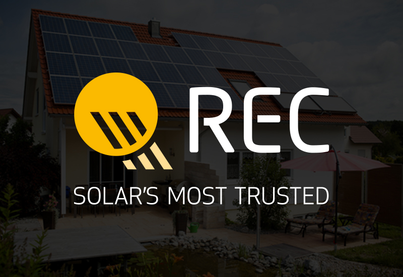 REC`s high performing and low carbon footprint solar panels to fuel the green building Revolution