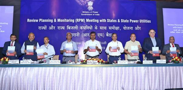 Power Minister Shri RK Singh launches SARAL – 'State Rooftop Solar Attractiveness Index' during RPM Meeting