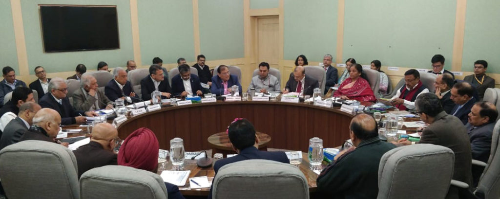 FM holds Pre-Budget Consultation with the Representatives of Infrastructure Sector and experts of energy sector and climate change
